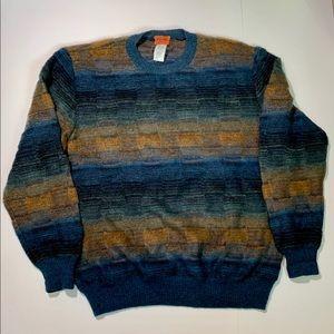 Missoni Mohair Blend Warm Ombre Sweater Men's XXL
